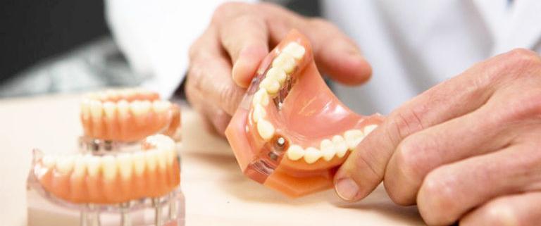зубной протез если нет всех зубов