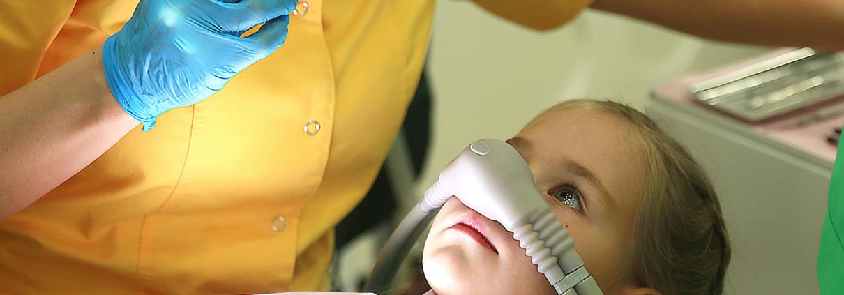 удаление молочных зубов у детей под седацией