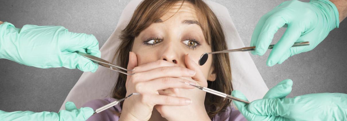Страх стоматологических услуг
